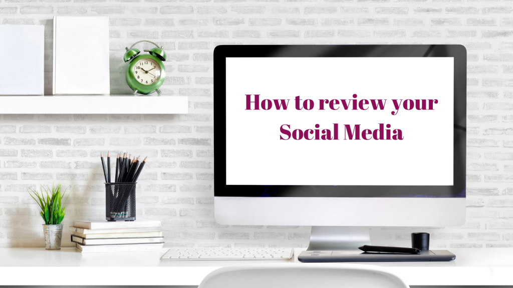 How to review your social media